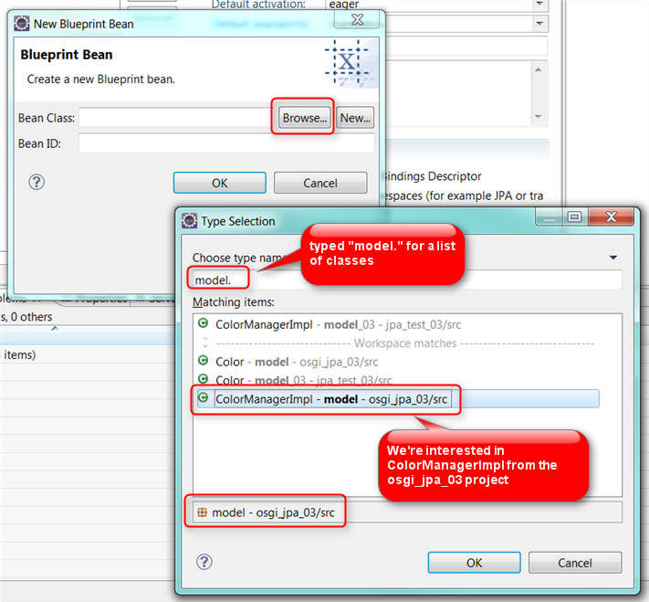 Osgi and jpa leave default values for bean id malvernweather Gallery